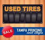 Used Tires Pre-Made Banner