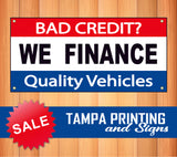 We Finance Quality Vehicles Banner