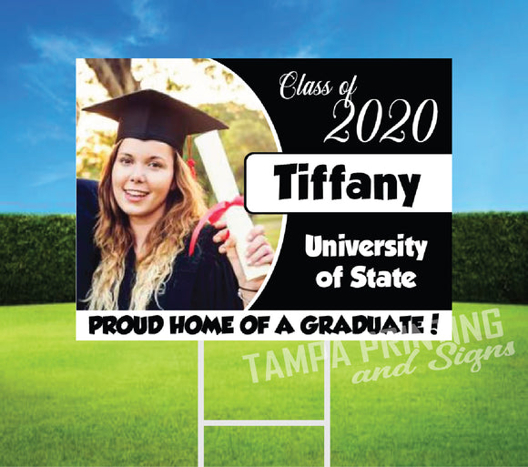 Graduation Yard Sign T503