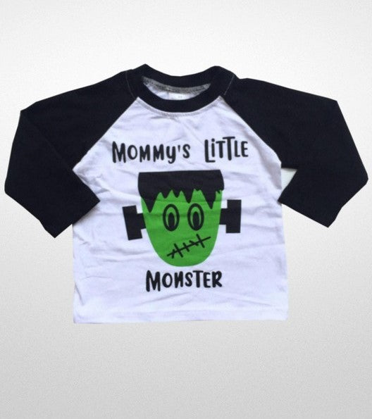 Mommy's Little Monster Shirt