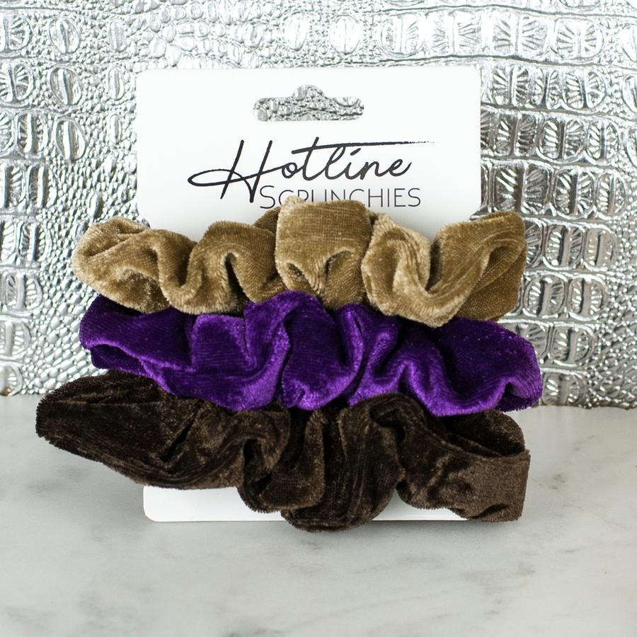 PB&J Velvet Scrunchie Set