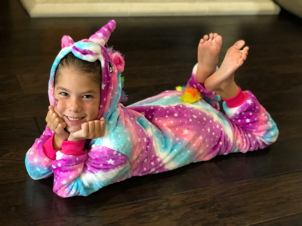 Unicorn Onesie -Starry Sky