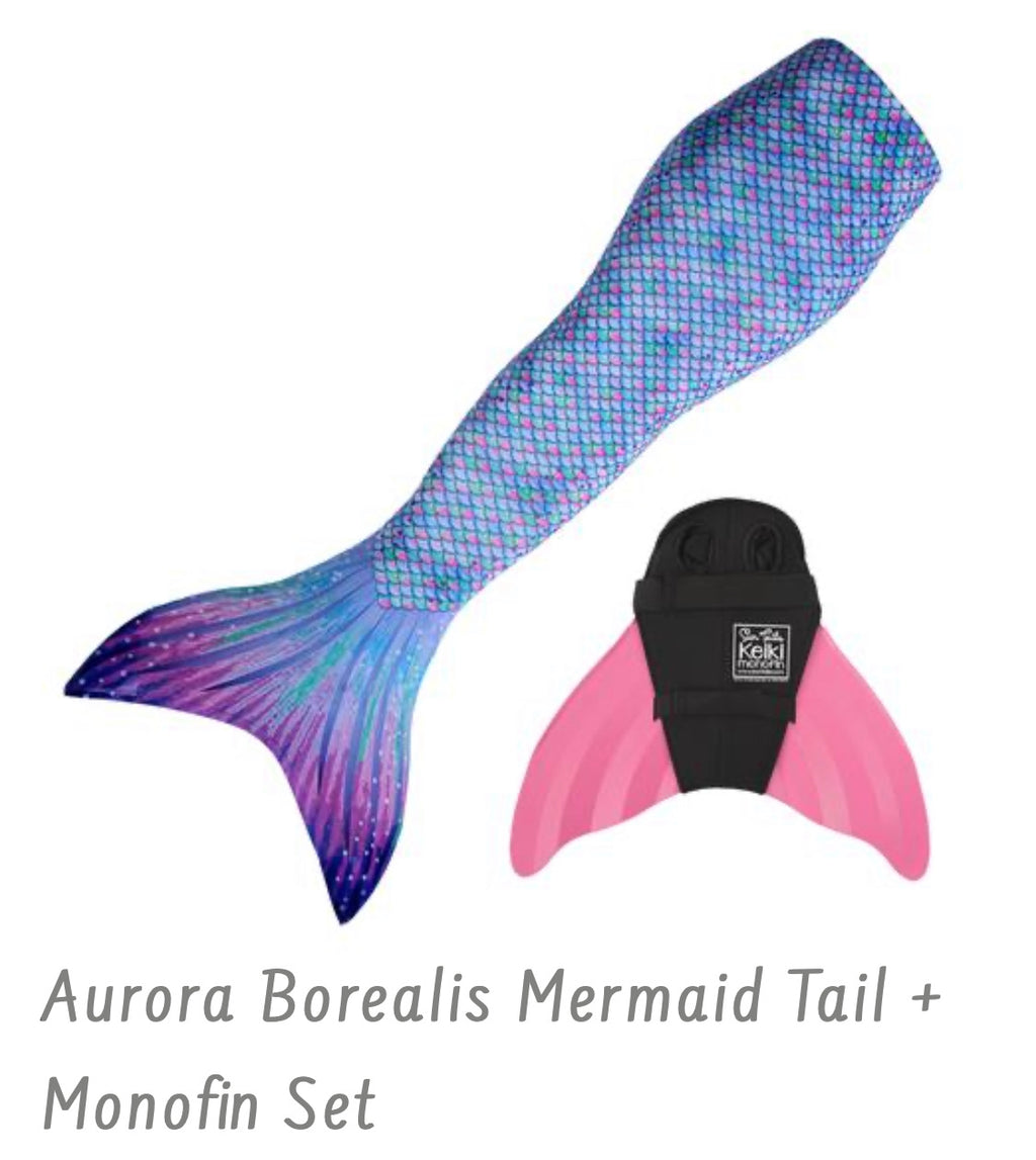 Mermaid Tail + Monofin