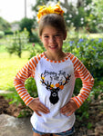 Happy Fall Y'all Reindeer Raglan
