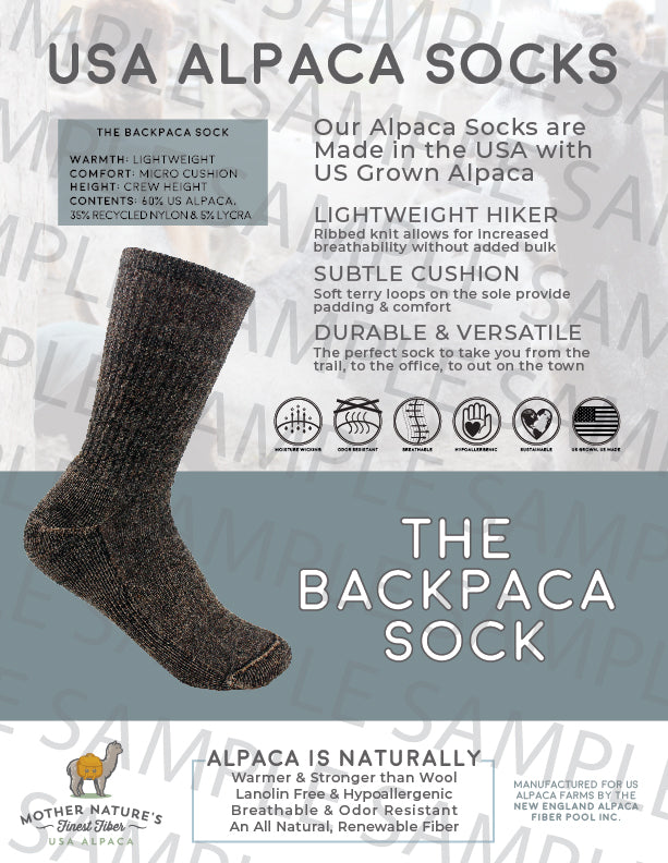 Backpaca Sock
