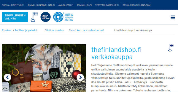 The Finland Shop esittely