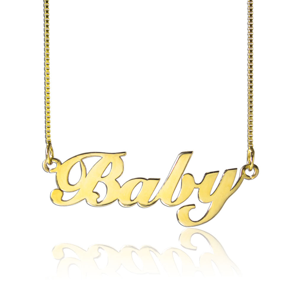 Custom Gold Chain With Name