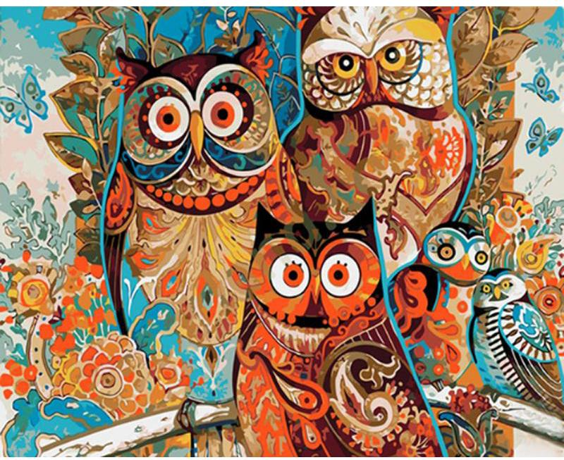 Abstract Owls