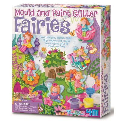 4M Craft - Mould & Paint Glitter - Fairies