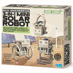 4M - Eco-Engineering - 3-In-1 Mini Solar Robot