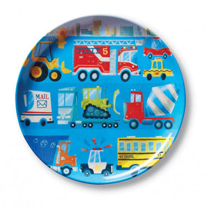 Crocodile Creek - Melamine Plate - Busy City