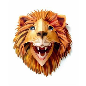 Djeco - 3D Pop-Up Wall Art - Lion