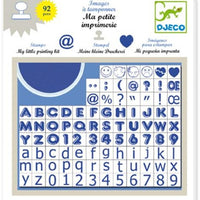 Djeco - Image Stamps - My Little Printing Kit