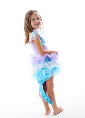Fairy Girl - Sparkle Mermaid Dress