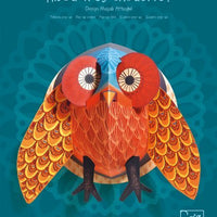 Djeco - 3D Pop-Up Wall Art - Owl
