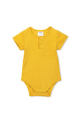 Milky Clothing - Rib Bubbysuit - Mustard