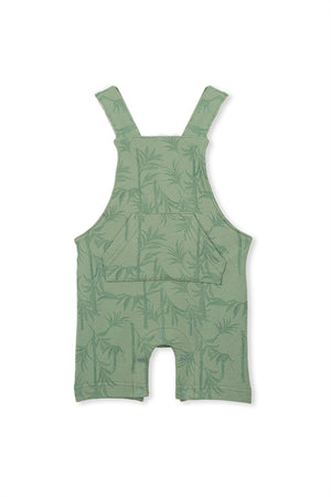 Milky Clothing - Palm Overall - Ash Green