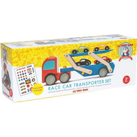 Le Toy Van - Race Car Transporter Set