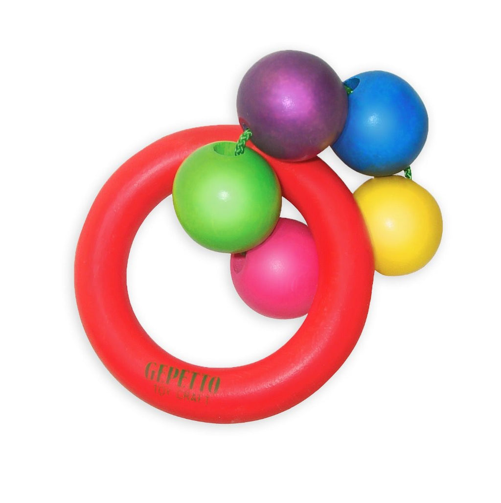 Gepetto - 5 Bead Teething Ring