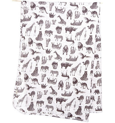 Toshi Knit Baby Wrap - Zoo
