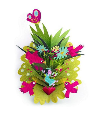 Djeco - 3D Pop-Up Wall Art - Lilibellule