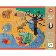 Djeco - Giant Puzzle - Tactile Jungle 20pc