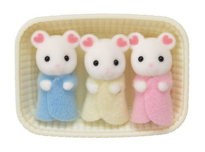 Sylvanian Families - Marshmallow Mice Triplets