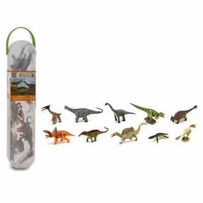CollectA - Box Of 10 Mini Dinosaurs - Dinosaurs Series 2