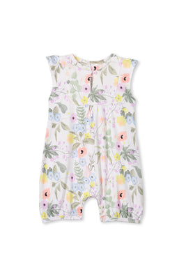 Milky Clothing - Spring Floral Romper