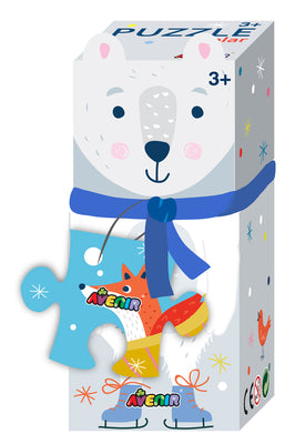Avenir - Puzzle Gift Box - Polar Bear - 28pc