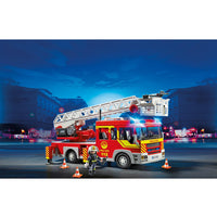 Playmobil - Action City - Fire Engine Ladder Unit with Lights & Sirens - 5362