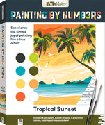 Hinkler - Painting By Numbers - Tropical Suset
