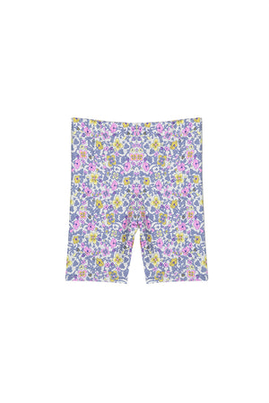 Milky Clothing - Vintage Floral Bike Short (2-7 years)