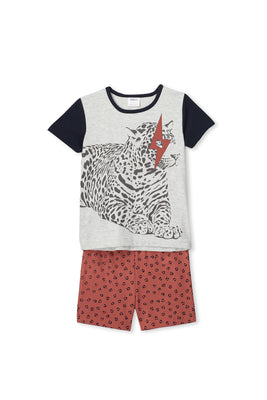 Milky Clothing - Leopard PJs (2-7 years)