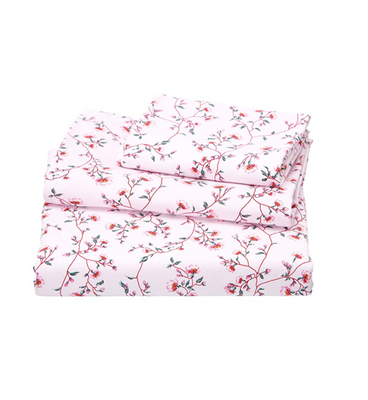 Toshi - Cot Sheet Set Knit - Blossom