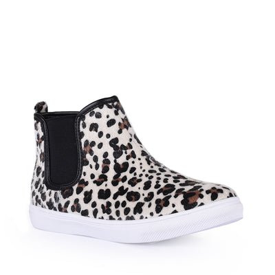 Miss Sachi - Malia Ankle Boot - Leopard