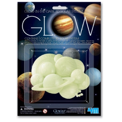 4M - Glow In The Dark - 3D Solar System