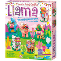 4M Craft - Mould & Paint - LLamas