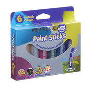 Little Brian - Paint Sticks - 6 Metallic Colours