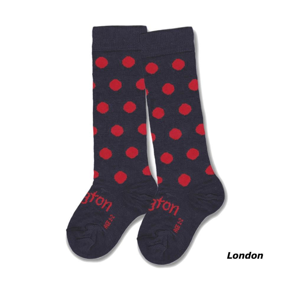 Lamington - Merino Wool Knee High Socks - London