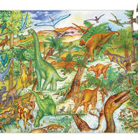 Djeco - Observation Puzzle - Dinosaurs - 100pc