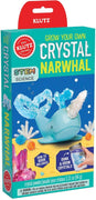 Klutz - Grow Your Own Crystal - Narwhal