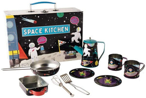 Floss & Rock - Tin Kitchen Set - Space 10pc