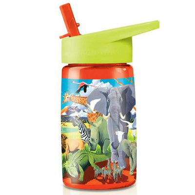 Crocodile Creek - Eco Tritan 450ml Drink Bottle - Safari