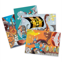 Djeco - Foil Pictures - Vikings