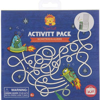 Tiger Tribe - Activity Pack Monsters & Aliens