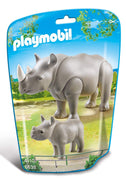 Playmobil - Rhino with Baby - 6638