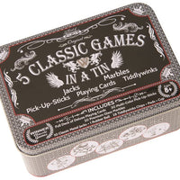 Funtime - 5 Classic Games In A Tin