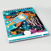 Floss & Rock - Rocket Sketchbook Drawing Pad