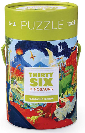 Crocodile Creek Puzzle - Thirty-Six Dinosaurs 100pc